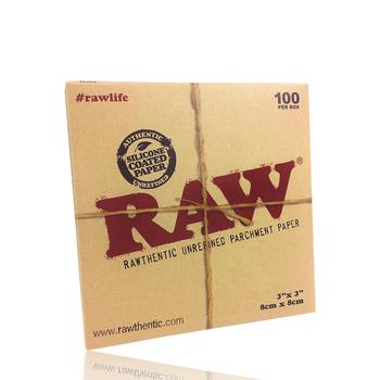 RAW PARCHMENT 3X3 100/BOX
