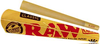 RAW CLASSIC KING SIZE CONE 3PK