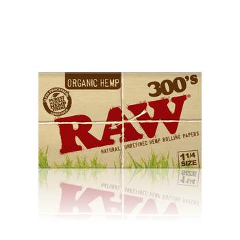 RAW ORGANIC 1 1/4 300's