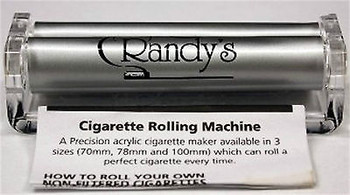 Randy's Rolling Machine! 79mm size will fit regular, 1 1/4 and 1 1/2 size papers.