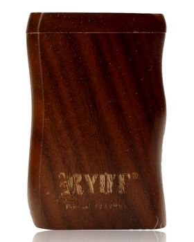 RYOT SMALL WALNUT WOOD DUGOUT w POKER & CIG BAT