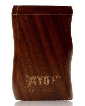 RYOT SMALL WALNUT WOOD DUGOUT w POKER & CIG BAT