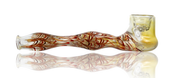 """6"""" GLASS ALCHEMY LARGE FEATHERED HP"""