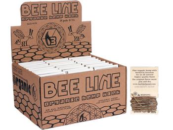 Bee Line Brand Hemp Wick! No more butane lighter hits. Hemp wick and beeswax in perfect harmony!