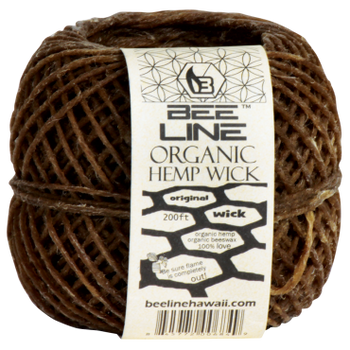 Bee Line Hemp Wick - Hemp and Beeswax in perfect harmony! No more butane lighter hits!