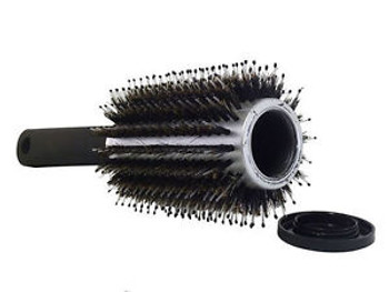 Hair Brush Stash Container. Plastic, Air tight container inside.