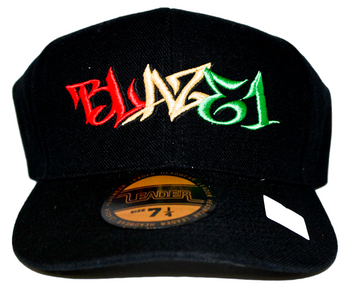 BLAZE1 8 PRO-FIT BLACK W/ RASTA CAP