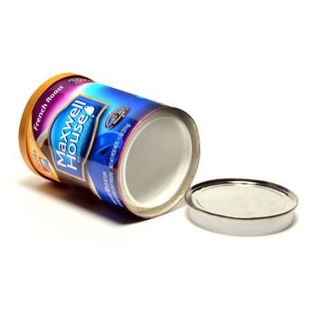 Coffee Can Style Stash Container. Plastic, Air tight inner container.