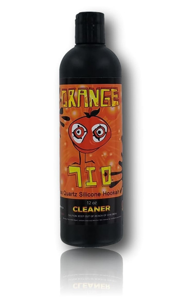 Orange Chronic 710 Cleaner. Specially formulated for those tough oil stains.