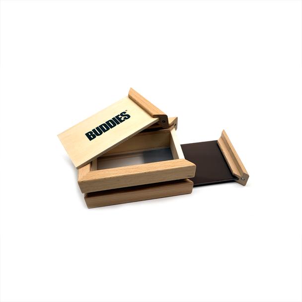 Buddies Bamboo Sifter Box - Small Size.