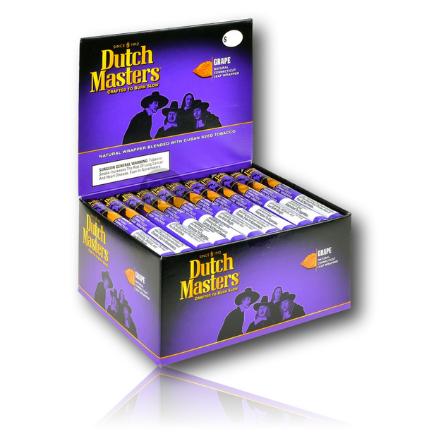 Dutch Masters - Grape Flavor - Single Cigar. The ultimate old-school blunt paper! These *are* your grandma's blunt wraps!