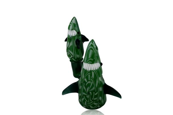 CHIP N DALE - BASKET WEAVE SHARK & CAP COLLAB W/ NIKOBH