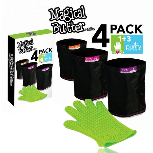 MAGICAL BUTTER 4 PACK FILTER COMBO