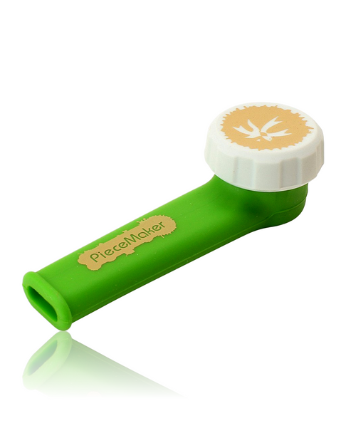 KARMA by PIECE MAKER SILICONE PIPE - SVSM GREEN