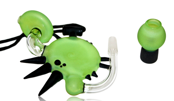 ANNEALED INNOVATIONS - SLYME DISC W BLACK SPIKE PENDY RIG