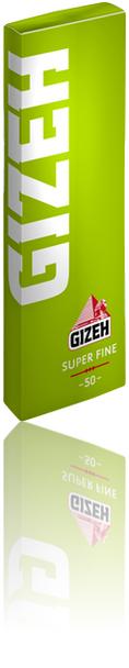 GIZEH REGULAR SUPER FINE PAPERS - SINGLE WIDE