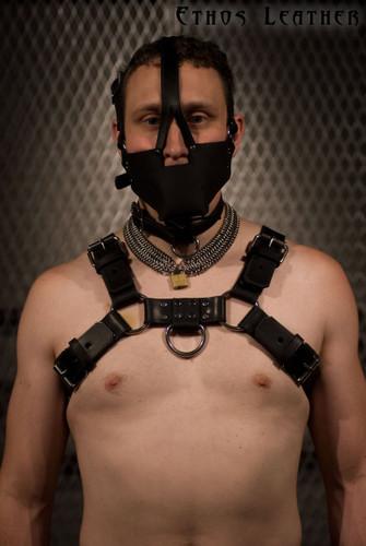 Black Latigo Leather