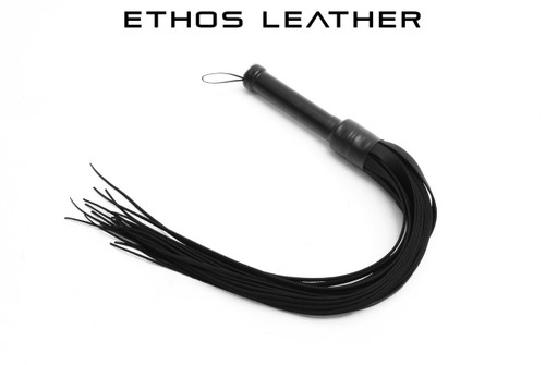 Nasty Tapered Oily Cowhide Floggers