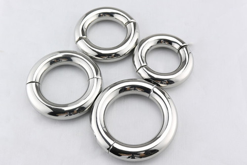 Heavy Stainless Steel Cockring for Stretching