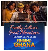 Island Slipper Featured in Finding 'Ohana on Netflix