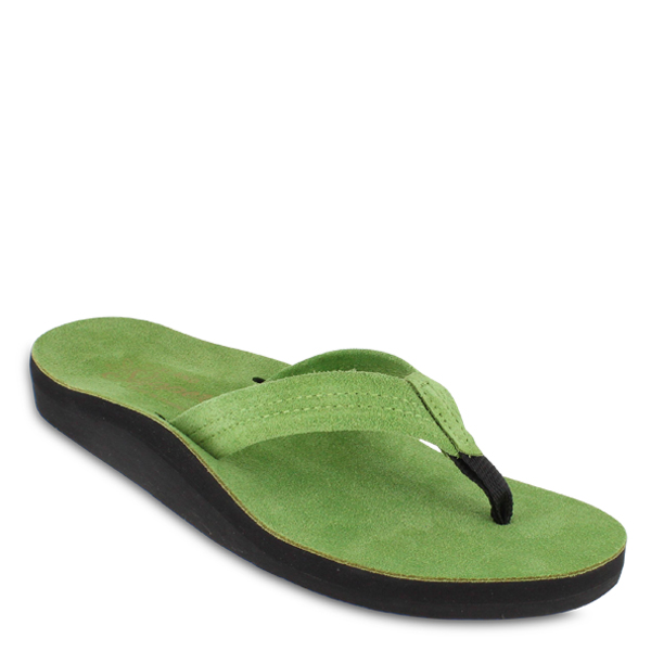 Kelly Green Suede