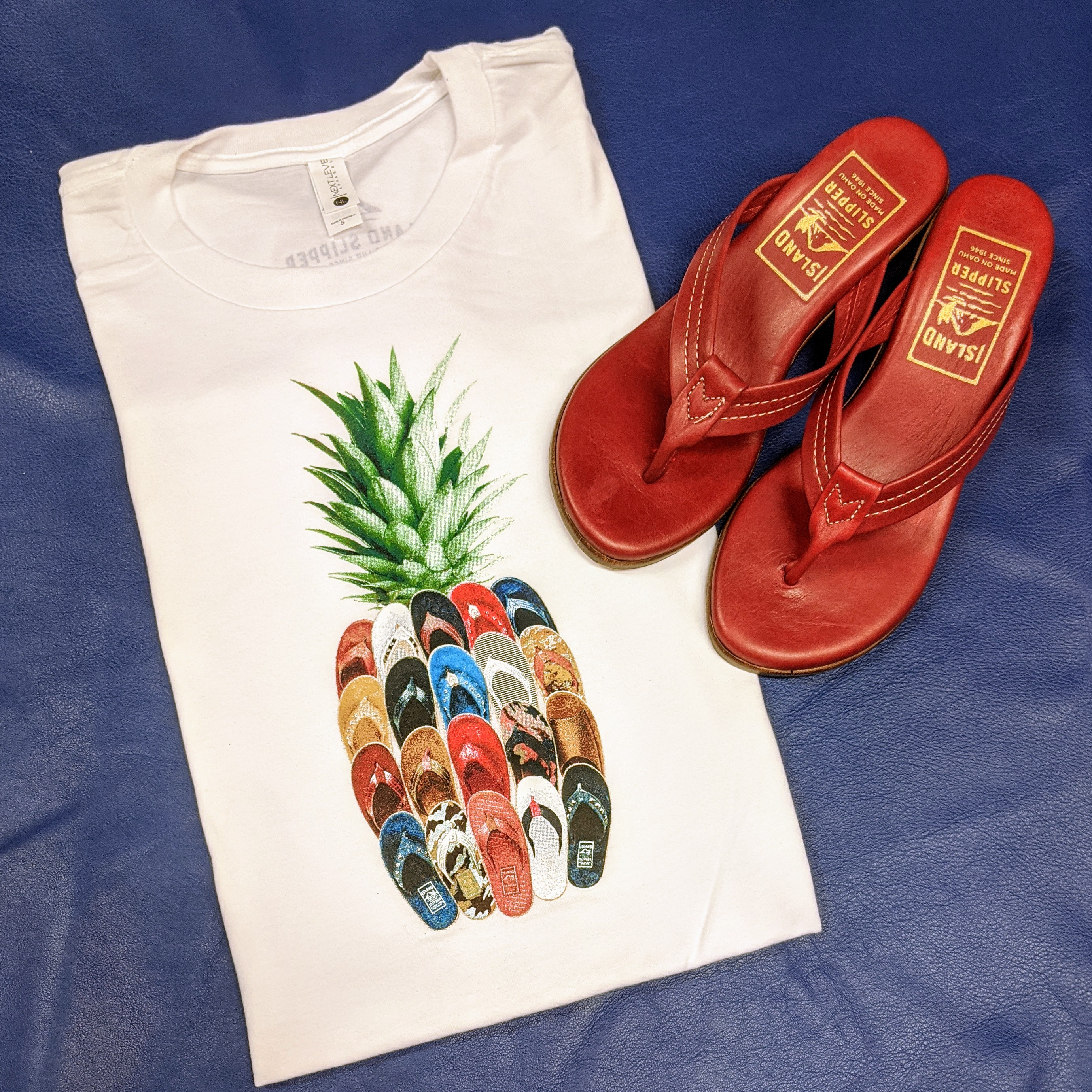 Island Slipper Pineapple Shirt
