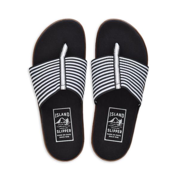 Elastic Thong Flat Black