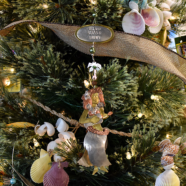 Hula Girl Ornament