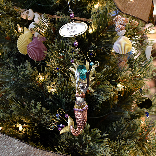 Mermaid Rising Ornament
