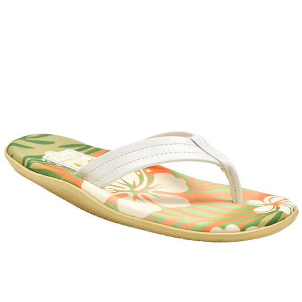 SPF Orange Hibiscus/White