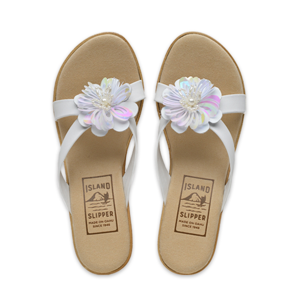 Beaded Flower Slide Platform