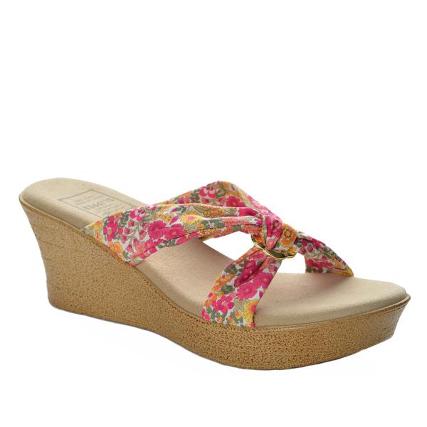 Fabric Floral Slide Platform