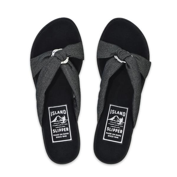 Fabric Slide Platform Black
