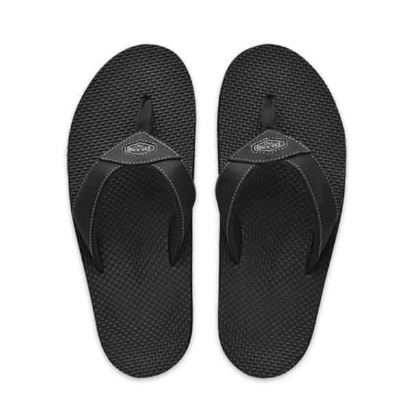 Womens Hawaii-43 Flip Flop Thong Sandal Black