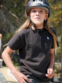 Skate Smart t-shirt KIDS - black