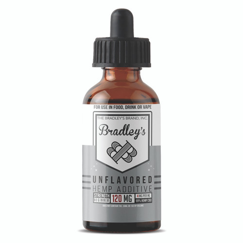 Bradley's CBD - It's Unflavored Bro 30ml 4mg/ml 120mg