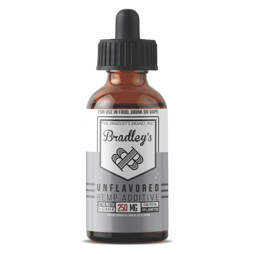 Bradley's CBD - It's Unflavored Bro 30ml 8.33mg/ml 250mg