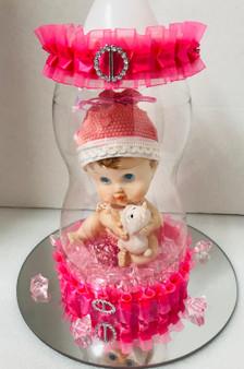 Baby Bottle Centerpiece