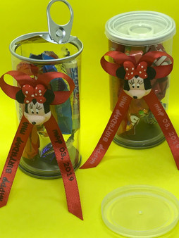 Personalized Minnie Pull tab favors