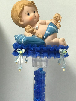 Tall Baby Shower Table Centerpiece
