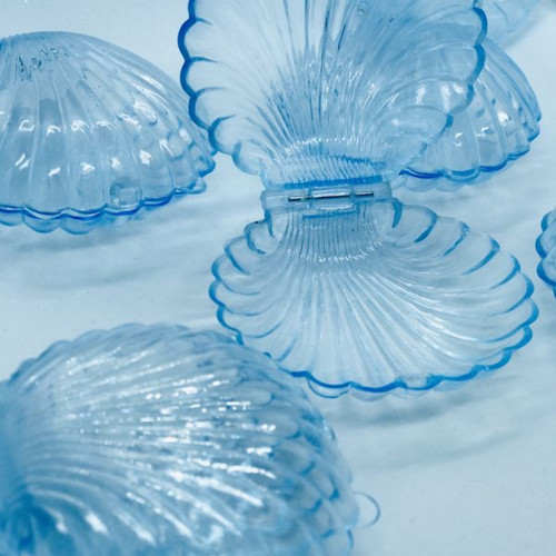 Clear Clam Shell Favor