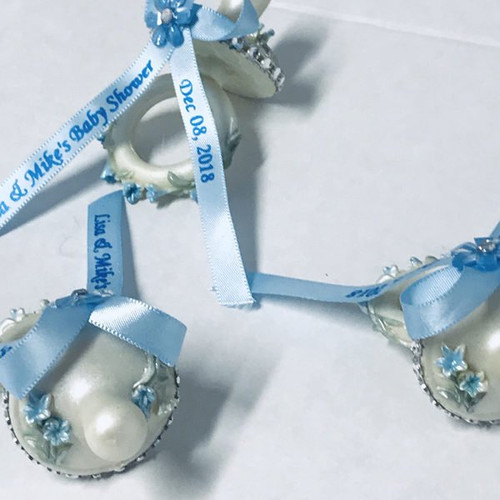 Baby shower pacifiers
