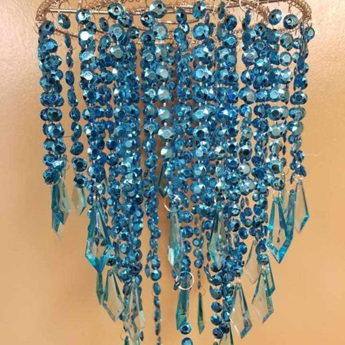 Acrylic Plastic Chandelier For Party Decoration