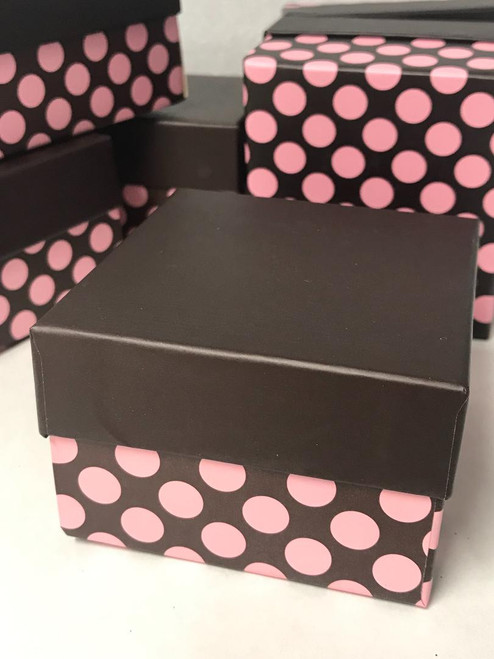 Polka Dot Favor Boxes