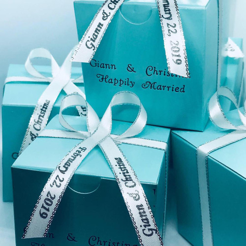 Personalized Tiff Boxes