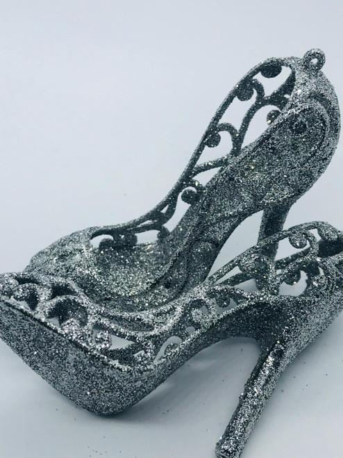 Glitter Cinderella Heel