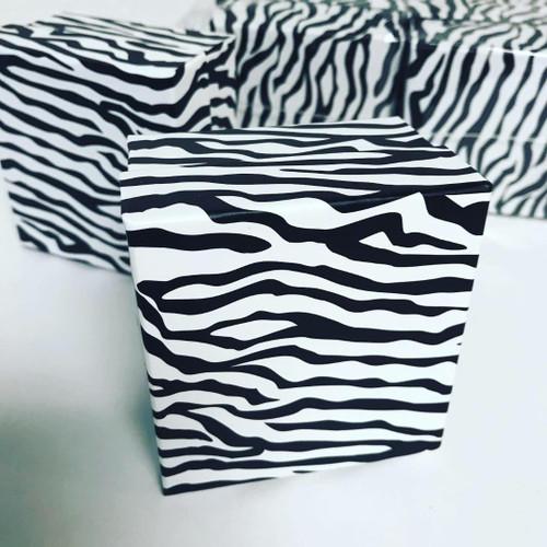 Zebra theme Favor Boxes