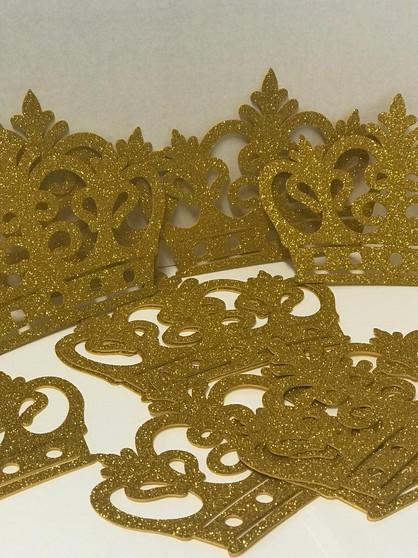 Gold Crown Cut of Foam Favors