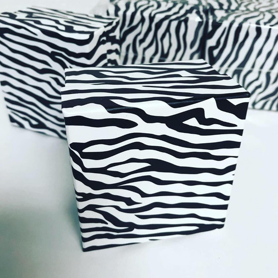 Zebra theme Favor Boxes