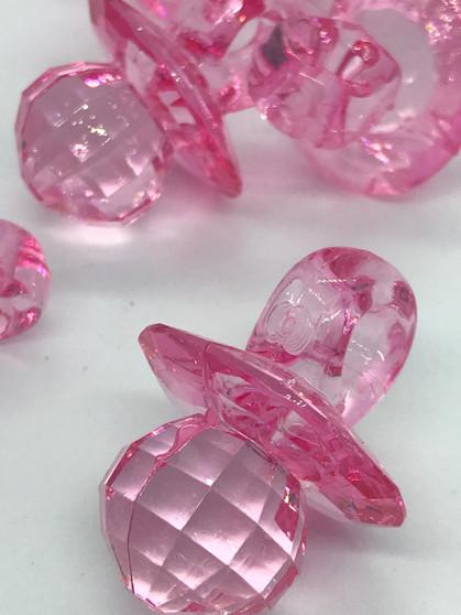 Diamond cut pacifier accessories